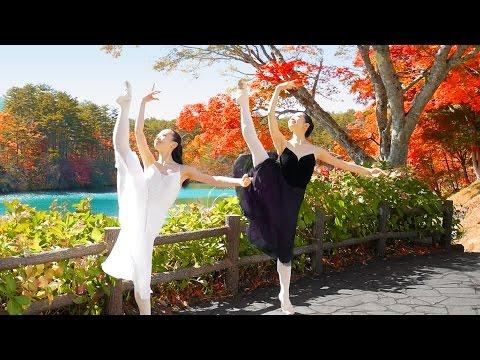 [Urabandai in Autumn] Ballerinas Dance among the Autumn Colors