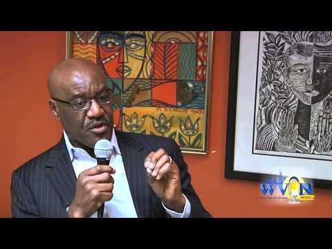 "WVON Discusses ""Question Bridge"" with Delroy Lindo"