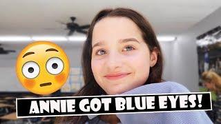 Annie Got Blue Eyes  WK 387.4 Bratayley