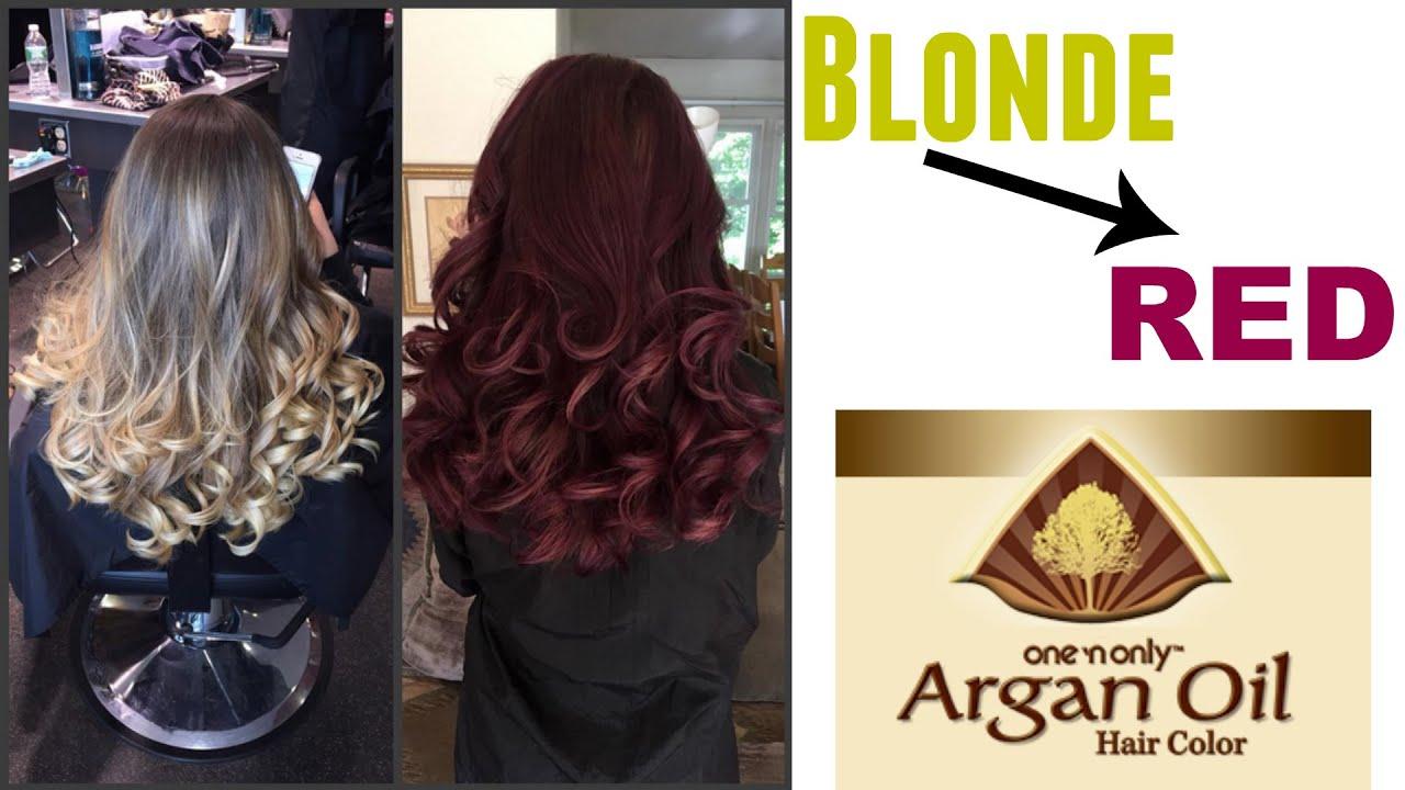 Blonde Dark Red Violet Brown 3rv One N Only Argan