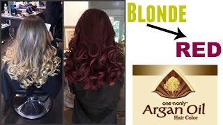 Blonde → Dark Red Violet Brown (3rv) | One n