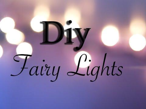 DIY Xmas/Fairy Lights for your Dollhouse & DIY Xmas/Fairy Lights for your Dollhouse - YouTube