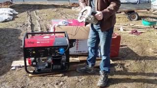 видео Бензиновый генератор Fubag BS 3300 ES