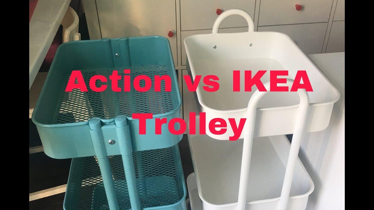 Action Vs Ikea Trolley