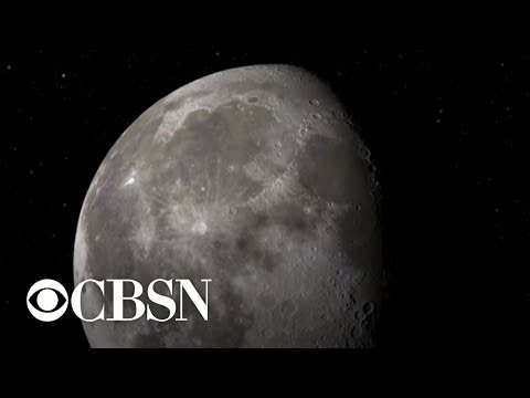 More water and ice found on the moon, NASA says