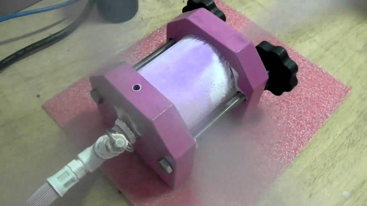 Making Dry Ice Doovi