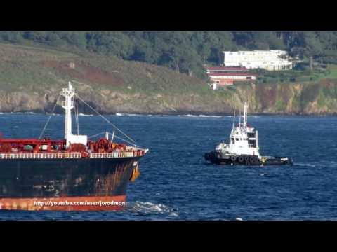 Tanker RIDGEBURY JOHN ZIPSER arrives in A Coruña
