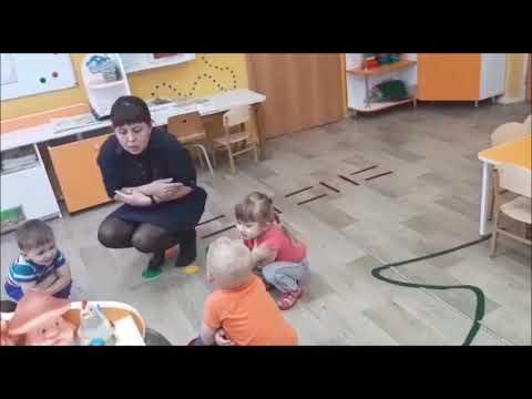 Игра Зайка серенький Воспитатель Пысина О В