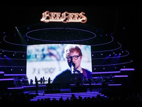 "Ed Sheeran ""Massachusetts"" Tribute Bee Gees"