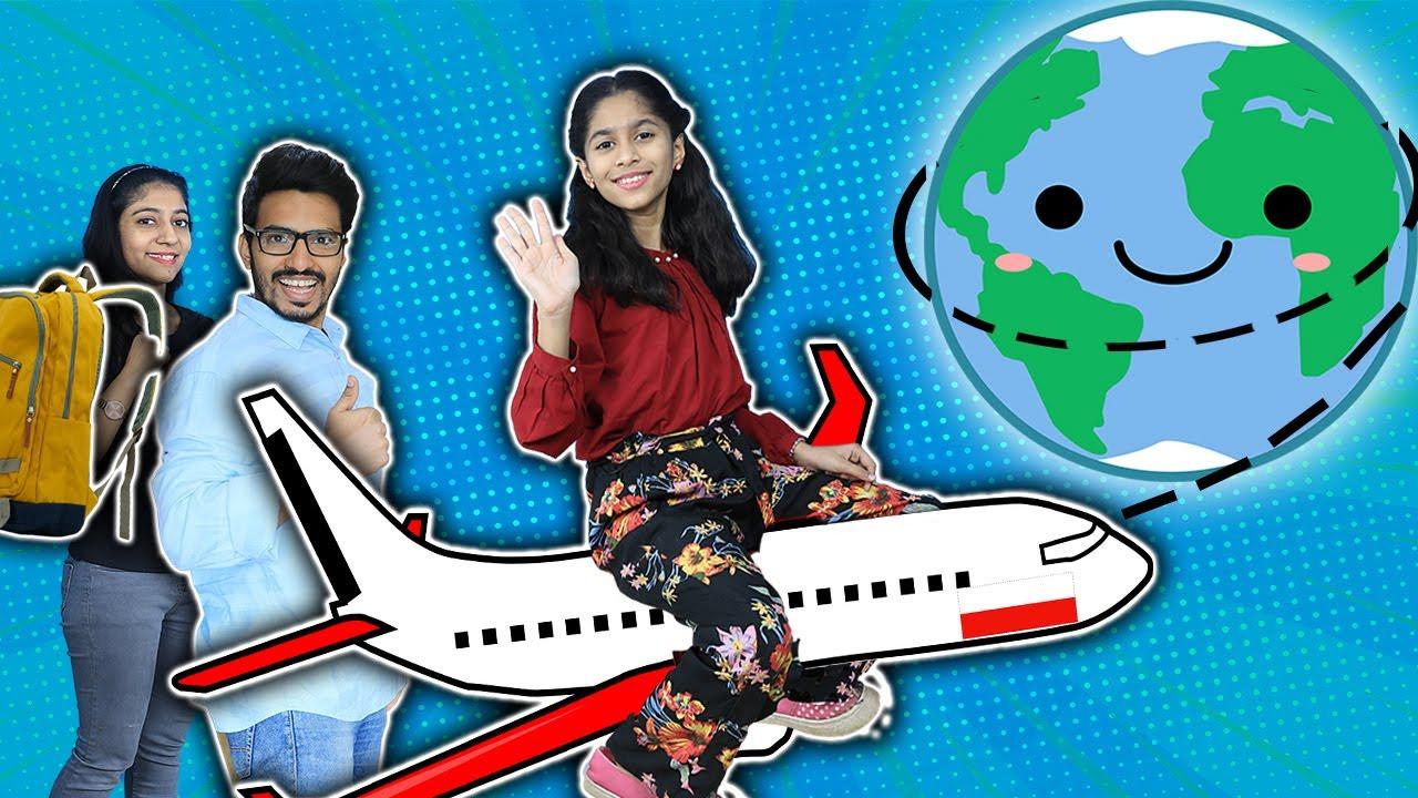 Pari Chali Duniya Ghumane | Pari Ki World Tour | Fun Story | Pari's Lifestyle