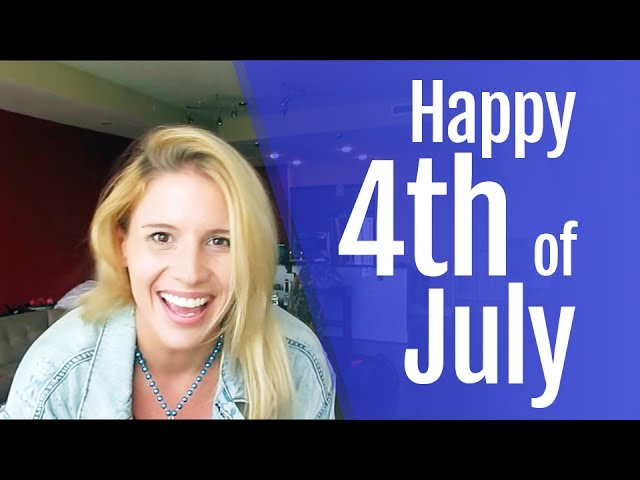 Happy July Fourth from Hannah
