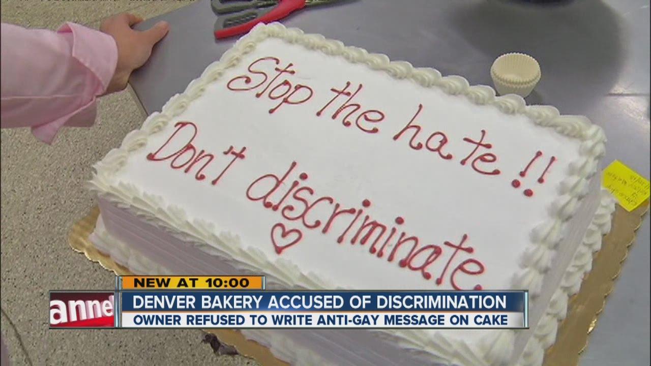 Bakery Refuses To Make Gay Wedding Cake