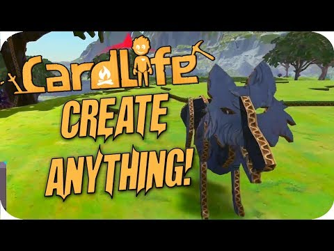 CardLife #1 Create Anything You Can Imagine!