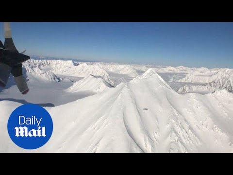 NASA conducts annual series of Arctic ice survey flights - Daily Mail