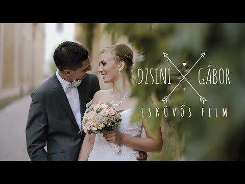Dzseni & Gábor Esküvős Film - 2017. Győr / Tényő