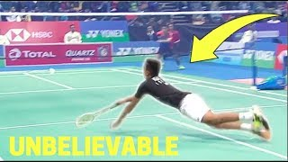 10 EPIC badminton rallies and save