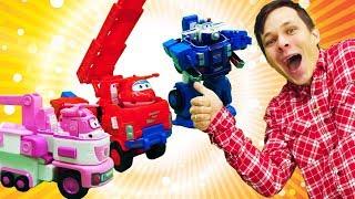 Авто-трансформер Джетта из Супер крыльев - игры для детей
