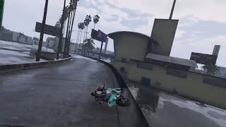 ORIGINAL WALLRIDE STUNT - GTA 5
