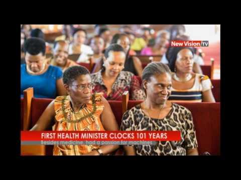 NEW VISION TV: Uganda's first health minister clocks 101 years