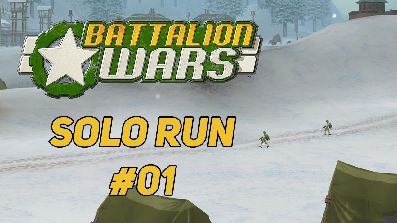 Battalion Wars - Solo Run - Strategischer Plan | #01 - YouTube
