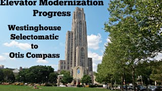 Before & After - Cathedral of Learning - Elevator Modernization - Pittsburgh, PA
