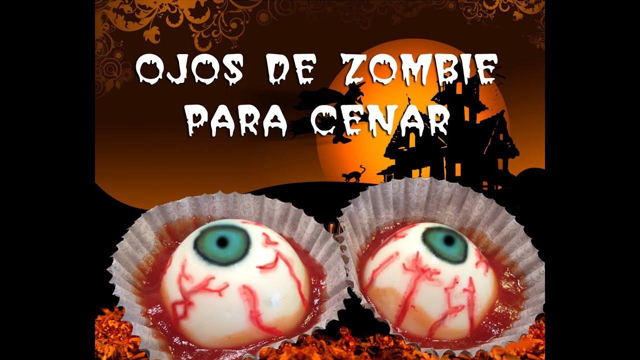 Recetas para halloween deliciosos ojos de zombie para - Que hacer de cenar rapido y facil ...