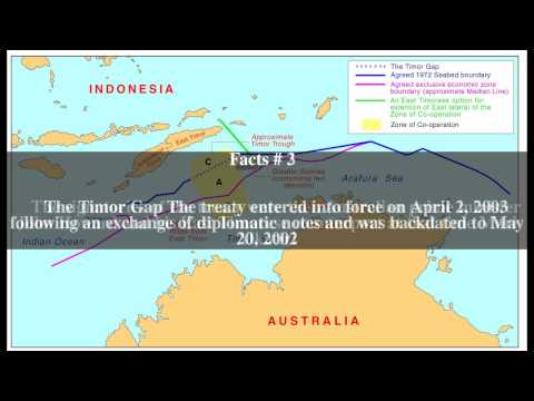 Timor Sea Treaty Top # 6 Facts
