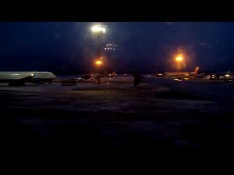 Moscow, Russia, Sheremetyevo International Airport, Boeing 737 moving to runway
