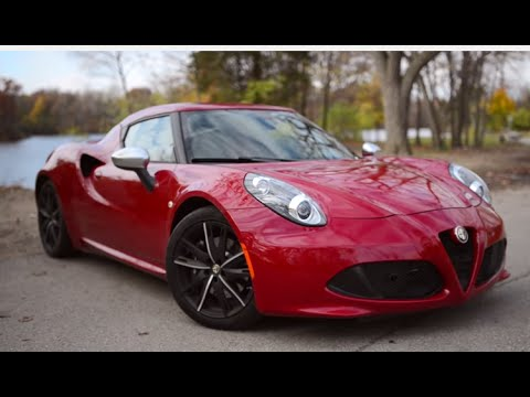 2015 Alfa Romeo 4C Review