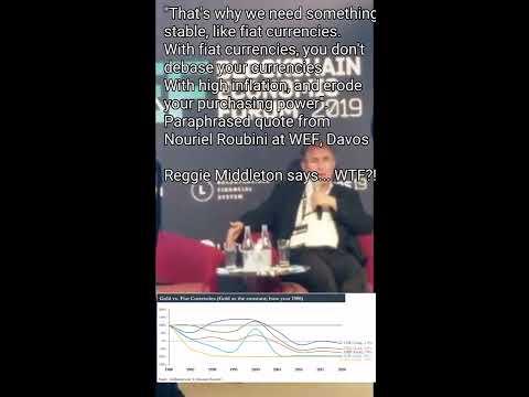 Reggie Middleton vs Nouriel Roubini at WEF, Davos 2019
