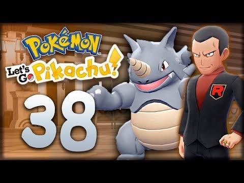 ДЖОВАННИ, ЗЕМЛЯНОЙ ГИМ - Pokemon: Let's Go, Pikachu #38 - Прохождение (ПОКЕМОНЫ НА НИНТЕНДО СВИЧ)