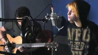 Paramore The Only Exception Acoustic Version