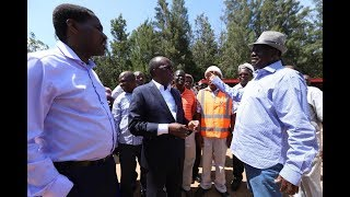 Raila breaks silence on SGR as State woos China | PRESS REVIEW