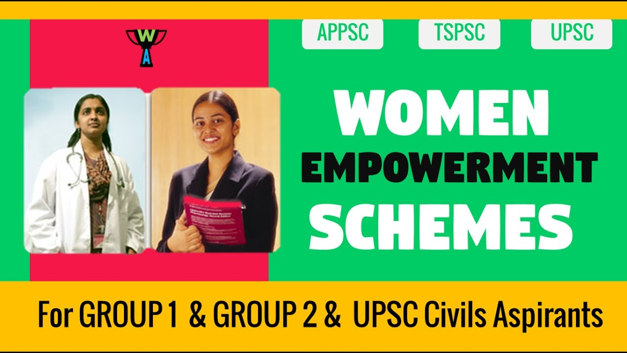 women empowerment schemes current affairs 2016 women empowerment schemes current affairs 2016