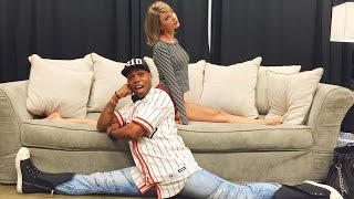 Taylor Swift Meets Todrick Hall After Viral Video & Records EPIC Voicemail Message