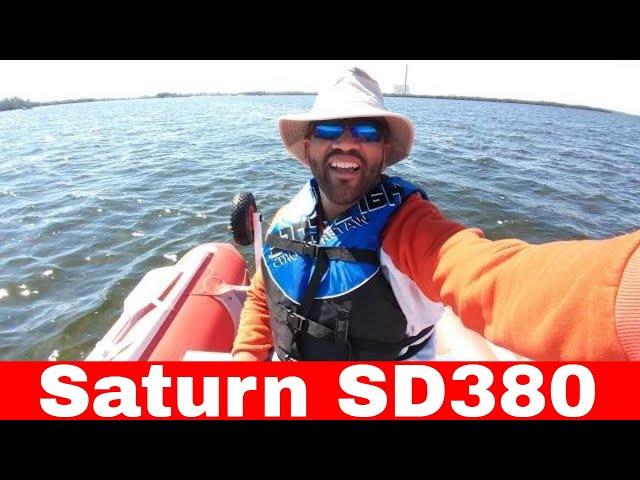 Saturn SD380 review & solo island camping at Anclote Key