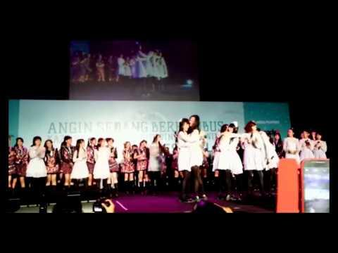 JKT48 9th Single Member Announcement - Kaze wa Fuiteiru Handshake Festival  2015-02-28