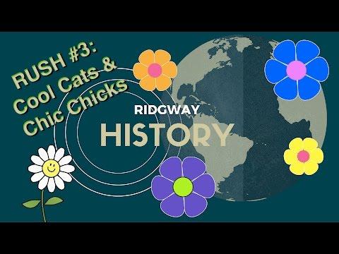 RUSH #3 | Counterculture: Cool Cats & Chic Chicks