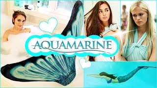 Aquamarine Makeup, Hair, Dress & Mermaid Tail Tutorial!