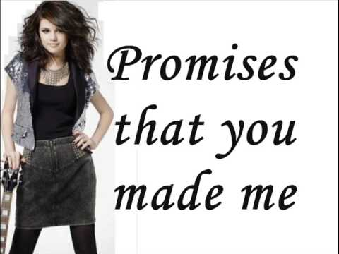 Selena Gomez & The Scene - Kiss & Tell - Lyrics On Screen