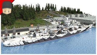 Minecraft - Submarine Base / U-Boat Base + Download