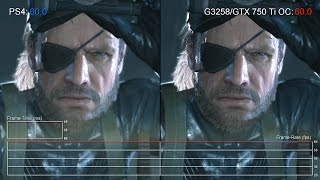 [60fps] PS4 vs Pentium G3258/GTX 750 Ti - Can a Budget Gaming PC Match Console?