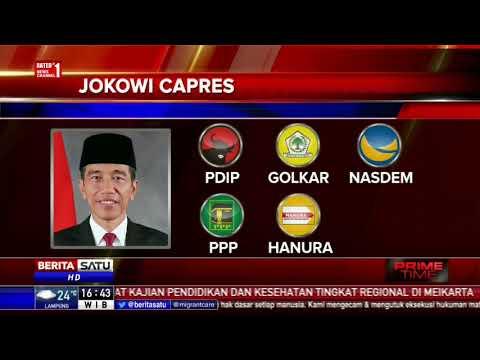 Jokowi dan Prabowo Masih Berpeluang Jadi Pemenang di Pilpres 2019