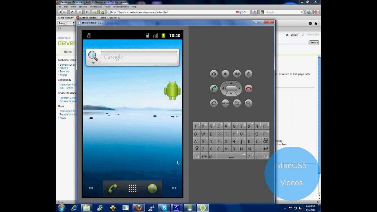 android sdk emulator for windows 7