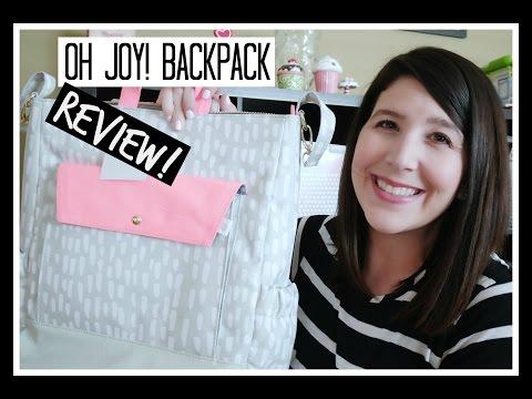 Oh Joy! Diaper Bag | Review/First Impression