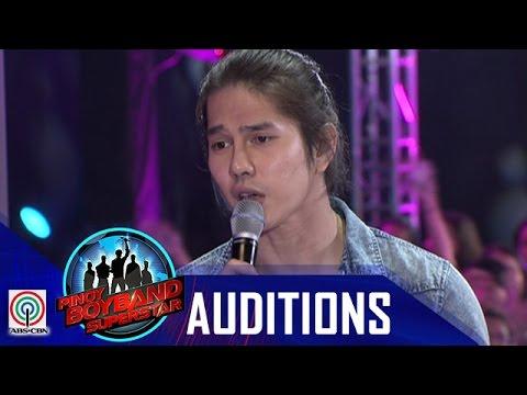 "Pinoy Boyband Superstar Judges' Auditions: Yuki Sakamoto– ""Crazy For You"""