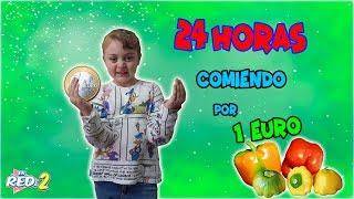 🍉 24 HORAS COMIENDO por 1€ al DÍA  Only Spend €1 Food for 24 Hours Enreda2