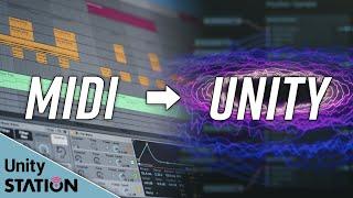 演奏(MIDI)データでUnityを動かす(Unityでオーディオ&ビジュアル!第1回)(6月3日号) - Unityステーション