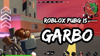 roblox pubg is garbo