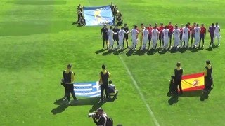 Elite round spain highlights § goal lazaros lamprou u19 england 1   1 greece